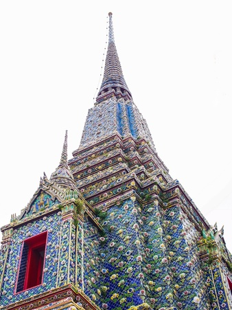 Phra Maha Chedi King  Sri Suriyothai is one of the Phra Maha Chedis   It is different from the other pagodas  photo