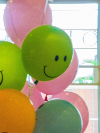 The balloons in an engagement day  Stock Photo - 17702418