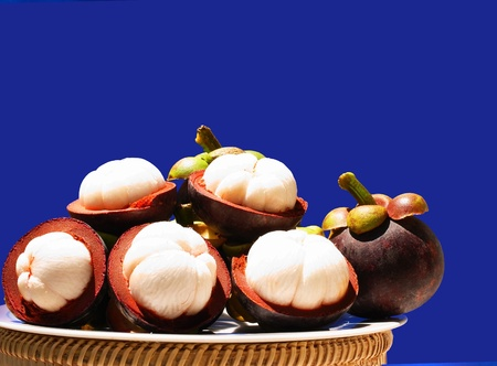 Mangosteen is a popular fruit for Asian  It has been dubbed