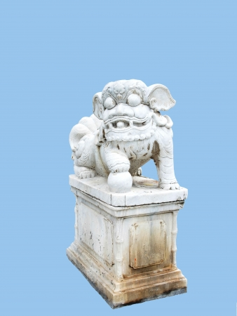 A chinese doll  carved from stone   It is a ballast brought from China in early Rattanakosin period