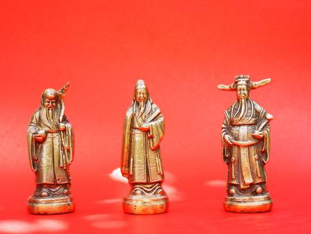 jarret: Les trois dieux chinois Hock 1er de l'image repr�sente la fortune et riche Siew 3�me image repr�sente la long�vit� 2�me image de Lok repr�sente gloire, la fortune, le pouvoir