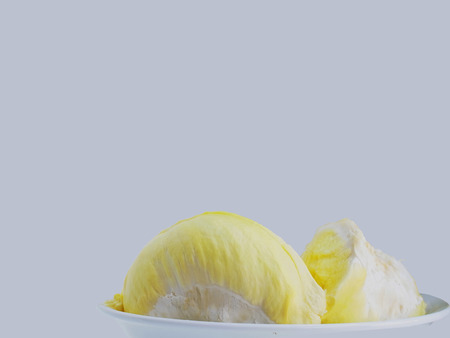 odour: Yellow durian flesh with distinctive odour and its deliciousness