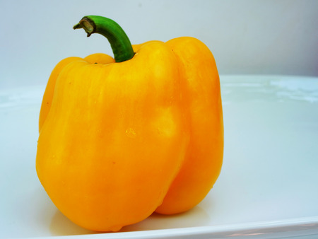 capsaicin: Yellow sweet pepper contain capsaicin and has  many nutritional value  and benefits.