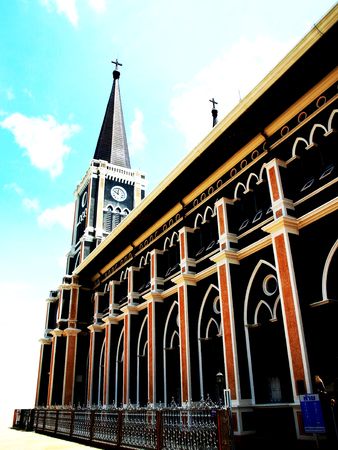 immaculate: The Cathedral of the Immaculate Conception is the largest church of Thailand built in Gothic style.