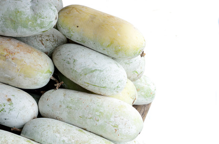ash gourd: The mature winter melon can be used to prepare a wide variety of dishes and fruit drink.