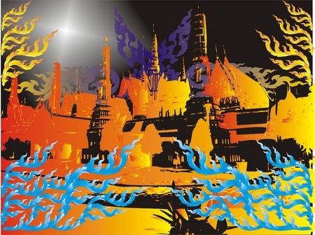 artes plasticas: Tailandia arquitectura