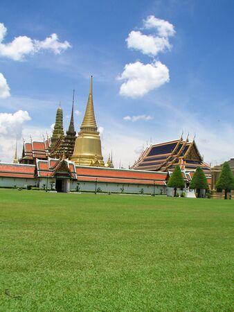 kaew: Wat Phra Kaew Bangkok Thailand Stock Photo
