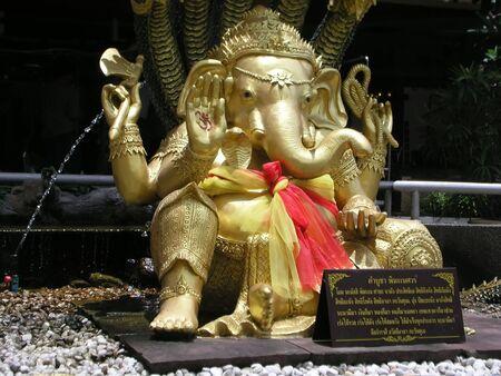 sculpture Ganesh Stock Photo