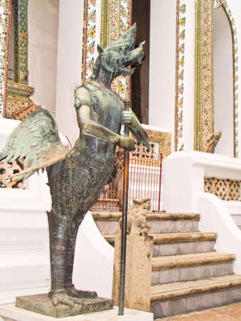 the Garuda Wat Phra Kaew Stock Photo - 13838881