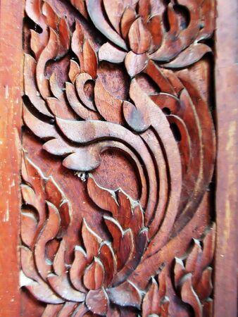 wood carvings: Wood carvings door