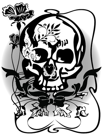 tattoo skull Stock Vector - 16912601