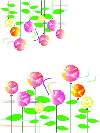 rose pattern design Stock Vector - 17095991