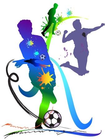 art football action