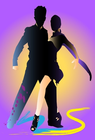 dance art Vector