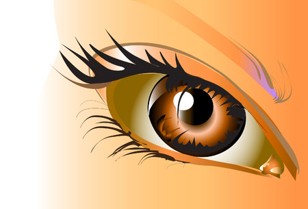 eyes sexy Illustration