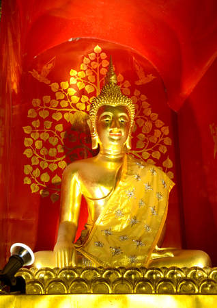 buddha gold  photo