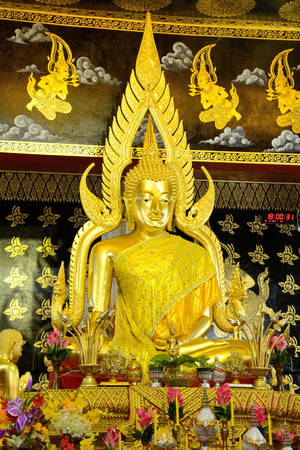 buddha gold thai photo