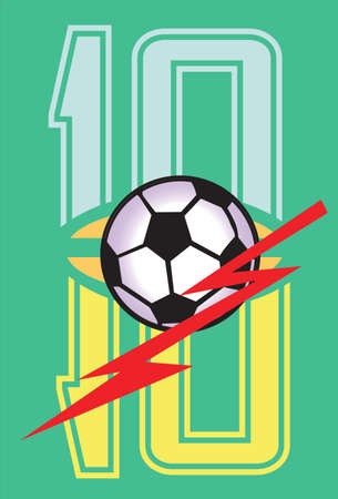 number football Vector