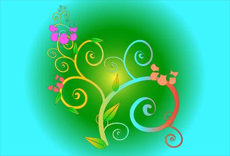flower art: fiore di arte