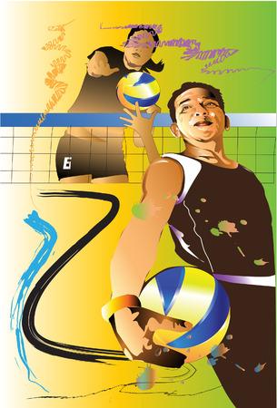 действие: волейбол активных видов спорта