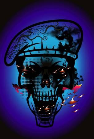 art: Skulls art style Thai art