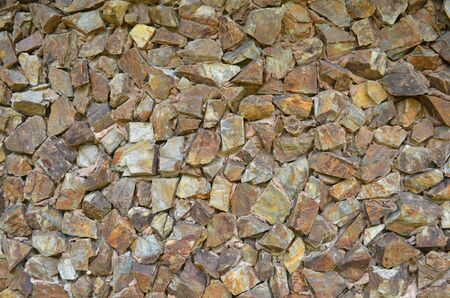 Rock background texture. Stone background texture. Rock cover on the wall. Wall and floor decoration and design.