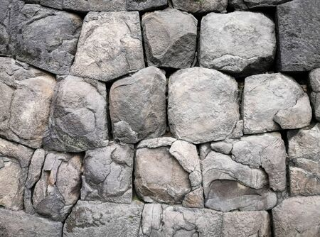Rock background texture. Stone background texture. Decorative rock wall and exterior design.