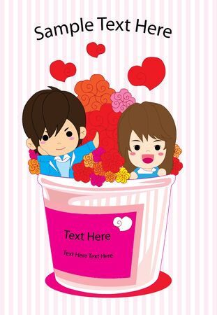 hello heart: Love Cup Illustration