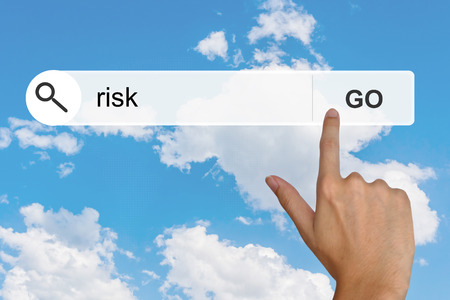 reduce risk: financial risk button on search toolbar