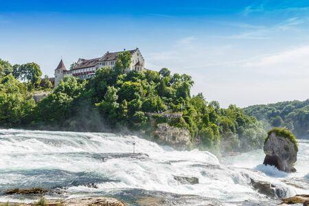 largest: Rheinfall, Switzerland, The largest waterfall in Europe