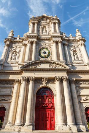 saint paul: Paroisse Saint Paul Saint Louis Church, Paris, France