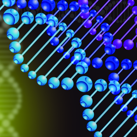 abstract backgrond DNA Stock Photo