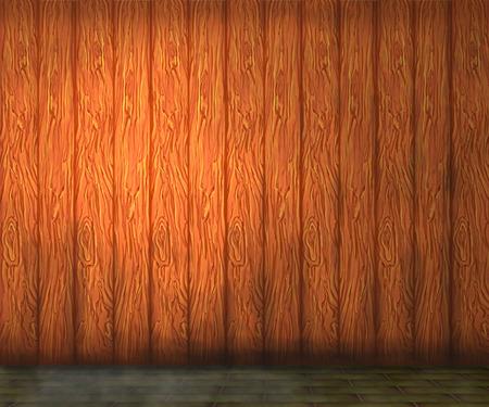 humanism: Golden brown wood wall