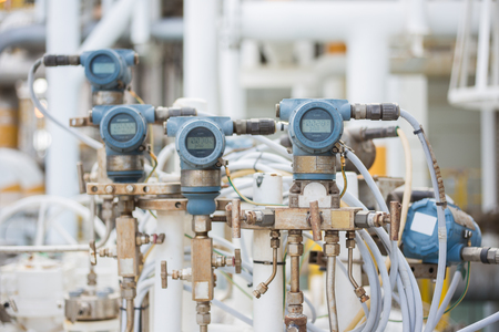 Pressure, Temperature, differential and flow transmitter for monitor and sent measuring value to programmable logic controller (PLC) to control oil and gas process.