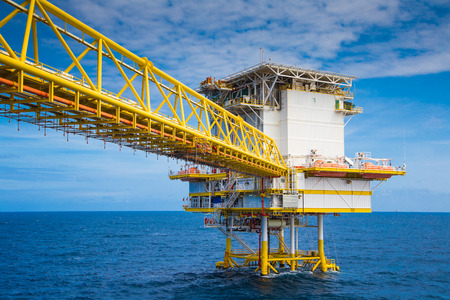 accommodation: Accommodation in oil and gas platform they are a lot of people on boarded the accommodation platform connect to production platform with bridge.