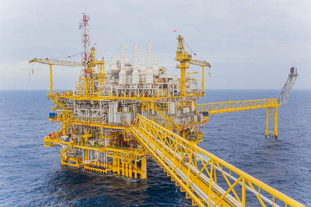 injected: Oil and gas production platform to separates oil gas and condensate and sent condensate to storage boat,and gas compressed and sent to on refinery and the last one water injected to water reservior.