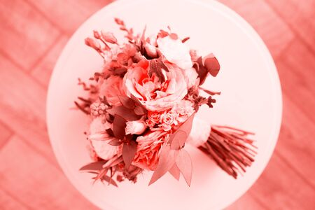 Wedding beauty wedding flowers. Fashion trend of the year.