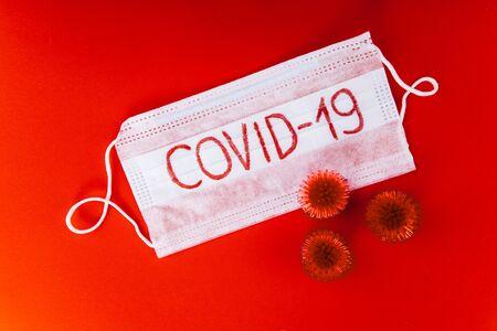 The concept of coronavirus quarantine. New Coronavirus COVID-19. Pandemic 2019-2020.