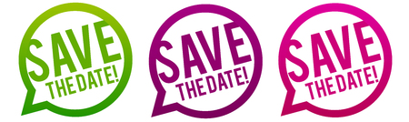 Save the Date Icons.