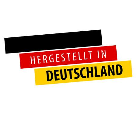 Fabriqué en Allemagne - Hergestellt in Deutschland