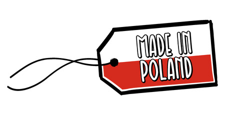 Made in Poland Label.