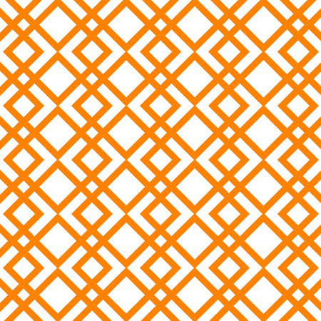 Abstract Vector Pattern. Orange striped Background.
