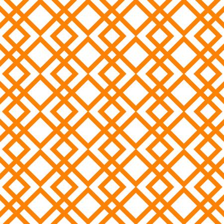 Abstraktes Vektormuster. Orange gestreifter Hintergrund. Vektorgrafik