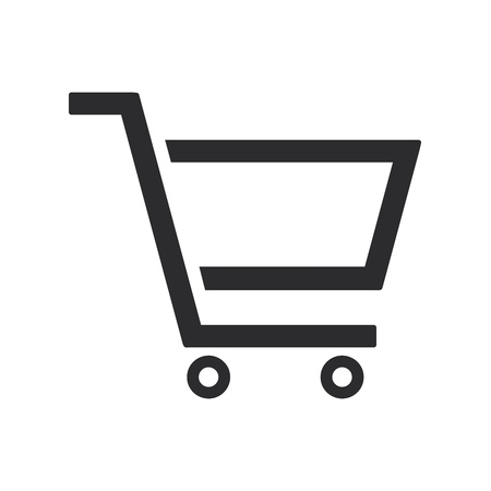 Shopping cart icon. Online shopping symbol. Shop sign.