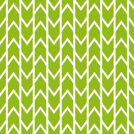 Geometric Vector Pattern. Green and white Background.