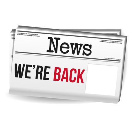 Zeitungsmagazin - Wir sind zurück mit freiem Speicherplatz.