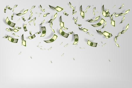 Lot of money pattern vector illustration