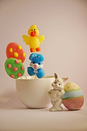Lollies for Easter Stock Photo