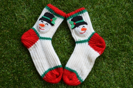 Socks for cold season photo