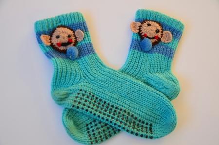 Socks for cold season Stock Photo